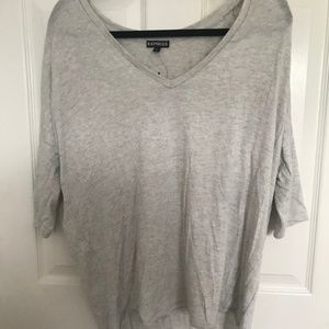 EXPRESS HIGH-LOW SWEATER